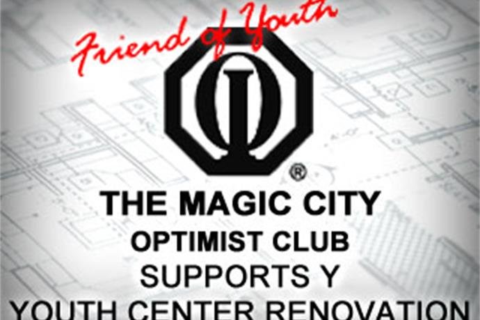 The Magic City Optimist Club is donating $15,000 to renovate the YMCA Youth Rally Room_4834502085638572450