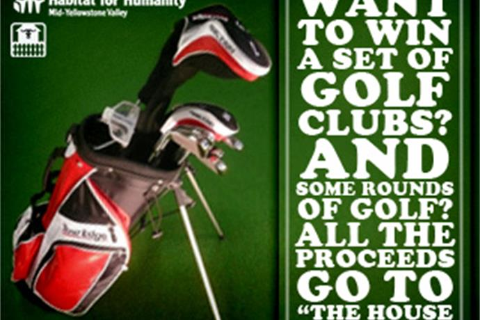 Golf Club Raffle to Benefit _The House That Ox Built__-7649520706727623594