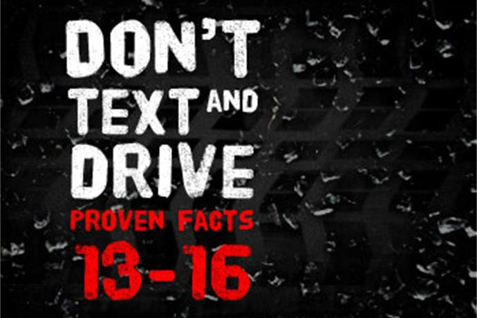 Don't Text and Drive - Proven Facts 13-16_-171602017571418498