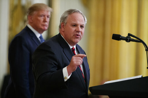 Donald Trump, David Bernhardt