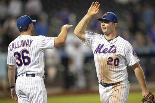 Pete Alonso, Mickey Callaway