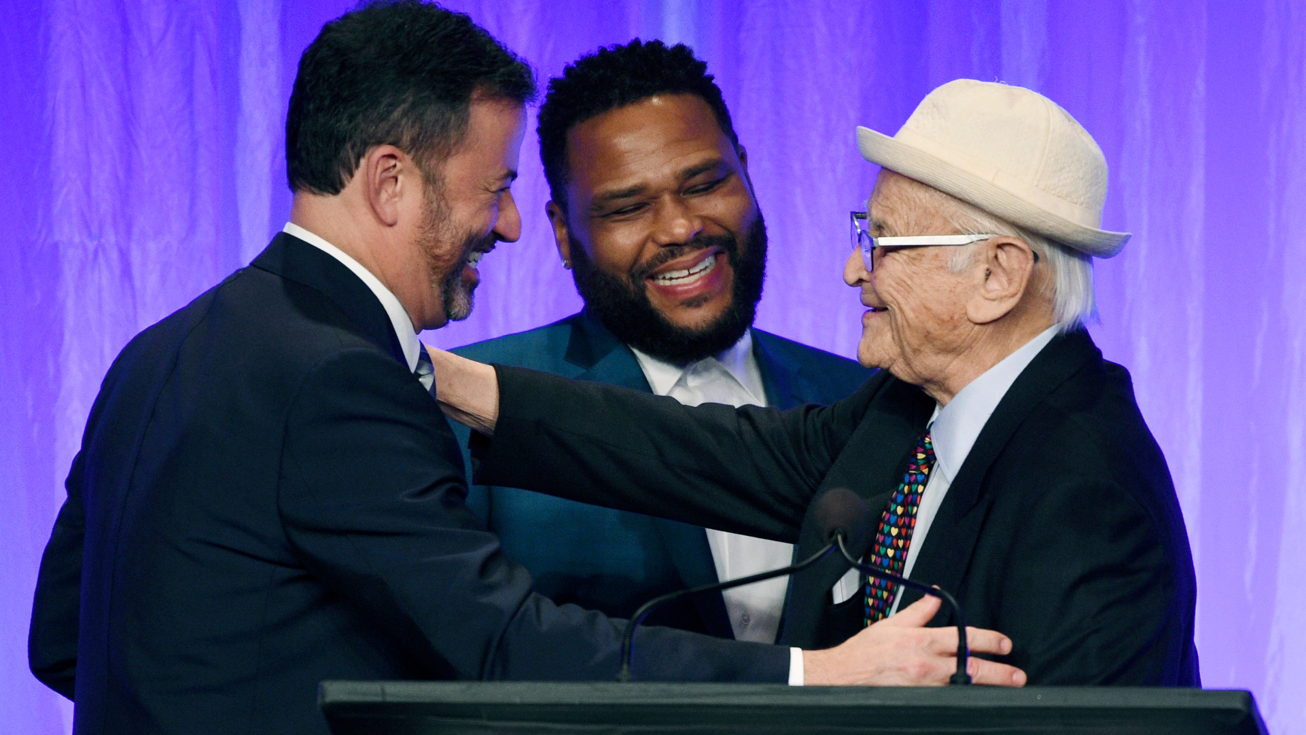 Norman Lear, Jimmy Kimmel, Anthony Anderson