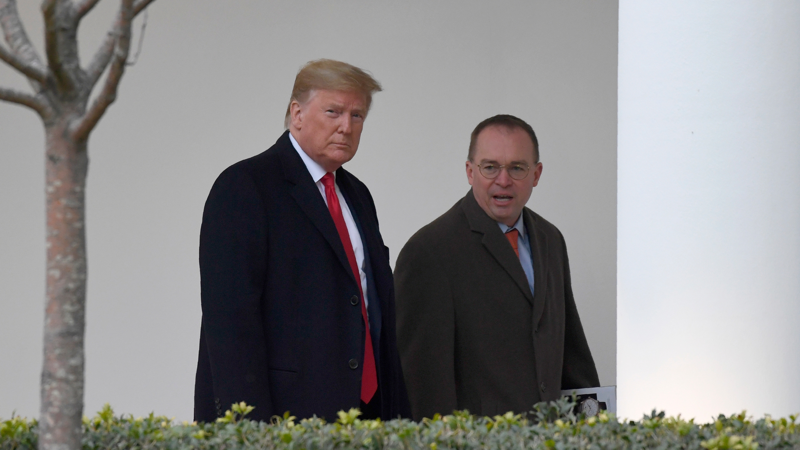 Donald Trump, Mick Mulvaney