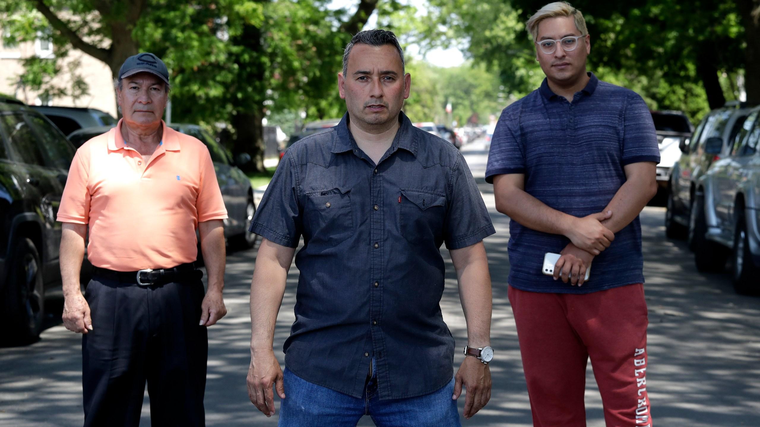 Juan Rodriguez, Raul Montes Jr, Radames Pina
