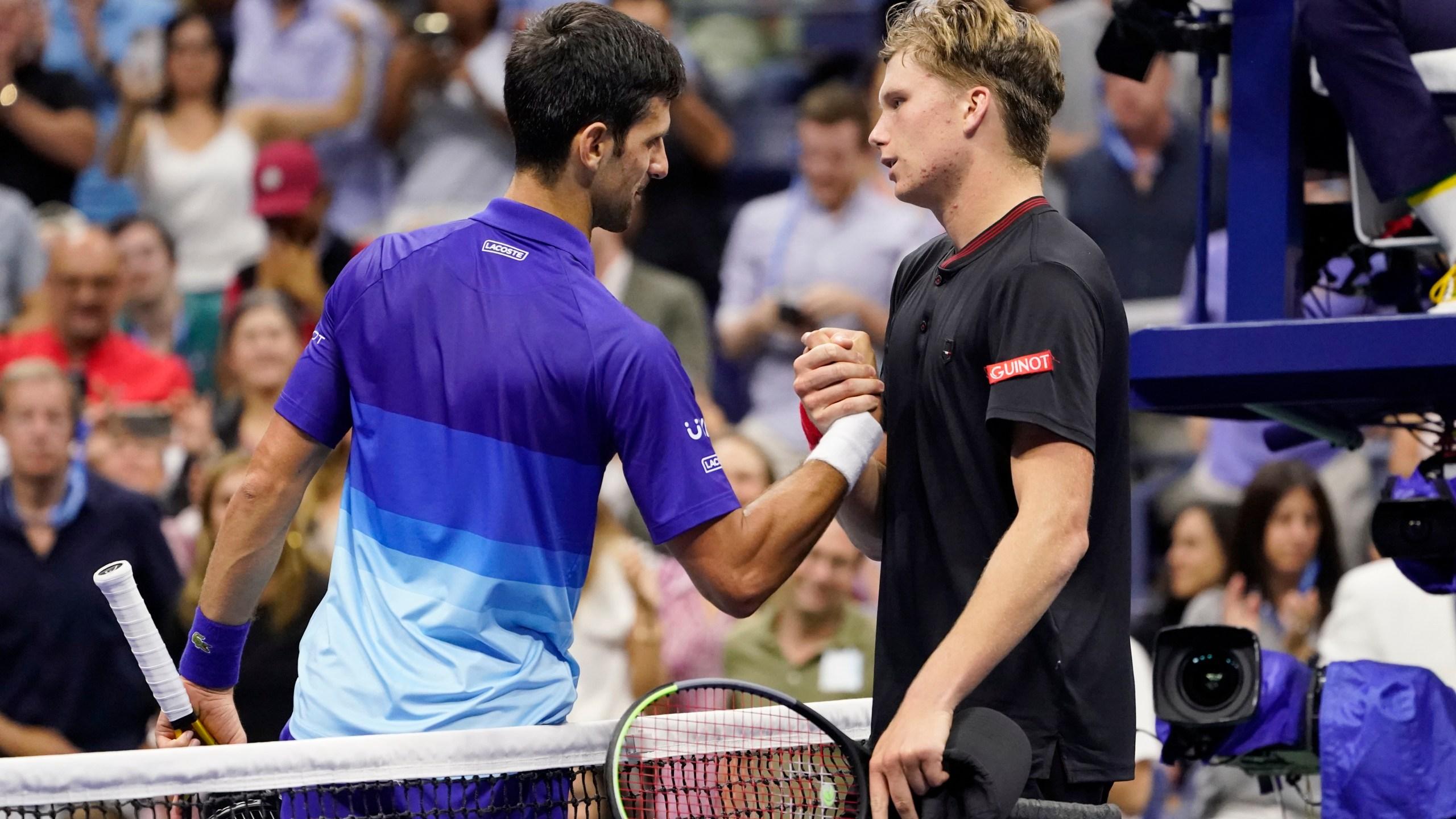Novak Djokovic, Jenson Brooksby